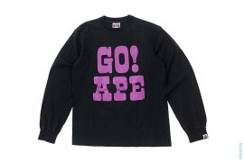Go! Ape Long Sleeve Tee by A Bathing Ape
