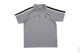 Foot Soldier Poly Blend Raglan Polo Shirt by A Bathing Ape