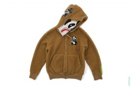 Fur Panda Full Zip Hoodie by A Bathing Ape