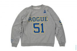 Rogue 51 Padded Crewneck Sweatshirt by A Bathing Ape