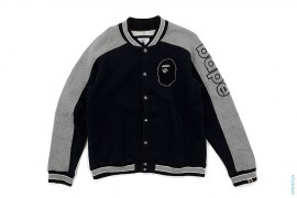 Bape Sleeve Apehead Raglan Sweat Varsity by A Bathing Ape
