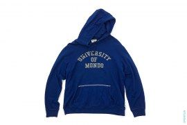 University Of Mondo Solf Fleece Pullover Hoodie by A Bathing Ape