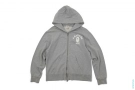 Classic College Logo Zip-Up Hoodie by A Bathing Ape