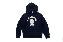 Classic College Logo Pullover Hoodie by A Bathing Ape