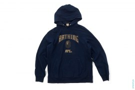 Gothic College Logo Pullover Hoodie by A Bathing Ape