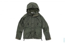 Spell Out Hex Rip Stop Snowboard Jacket by A Bathing Ape