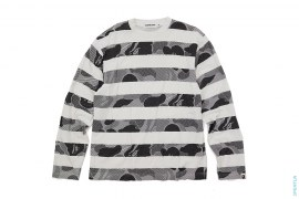 Border Half Tone Camo Long Sleeve Tee by A Bathing Ape