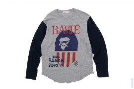 BAVIIE Jersey Long Sleeve Tee by A Bathing Ape
