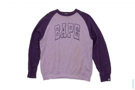 Arch BAPE Logo Raglan Long Sleeve Tee by A Bathing Ape
