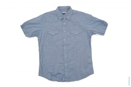 Rope Logo Western Short Sleeve Button-Up Shirt by A Bathing Ape
