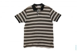 Baby Milo Check Accent Border Pique Polo by A Bathing Ape