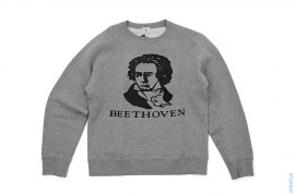 Beethoven Crewneck Sweatshirt by A Bathing Ape