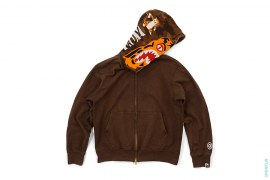 Orange Face Tiger Full Zip Hoodie by A Bathing Ape