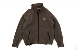 Cycles Kevlar Blend Stand Collar Windbreaker Jacket by A Bathing Ape