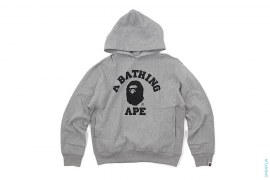 Swaro Eyes College Logo Pullover Hoodie by A Bathing Ape