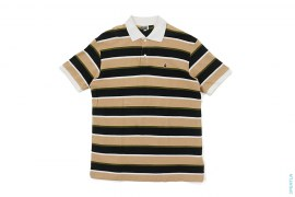 Apehead Border Pique Polo by A Bathing Ape