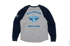 Diamond Logo Raglan Long Sleeve Tee by BBC/Ice Cream