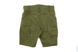 Rubber Bape Tag Army Cargo Shorts by A Bathing Ape