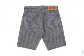 Houndstooth Sta Pocket Denim Shorts by A Bathing Ape