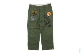 Bape General Applique Military Chino Pants by A Bathing Ape