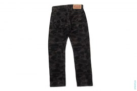 Color Camo Corduroy Pants by A Bathing Ape