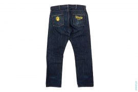 Small Rope Logo Vintage Wash Denim by A Bathing Ape