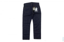Pirate Store Crossbone Apehead Raw Denim by A Bathing Ape