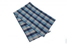 Plaid Wool Scarf by A Bathing Ape
