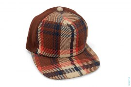 Bape Plaid Woven Snapback by A Bathing Ape