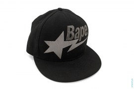 Bape Sta Logo Wool Fitted by A Bathing Ape x New Era