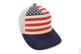 USA Flag Snapback by A Bathing Ape