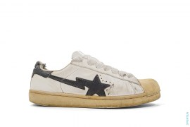 Snakeskin Ultra Skullsta Low-Top Sneakers by A Bathing Ape