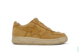 Nubuck Bapesta Low-Top Sneakers by A Bathing Ape