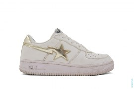 Foil Sta Bapesta Low-Top Sneakers by A Bathing Ape