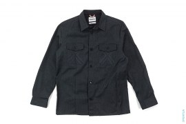Chain Stitch X Pocket Shirt Jacket by OriginalFake