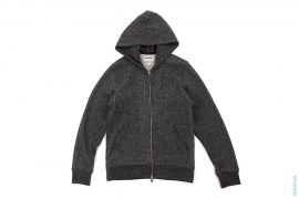 Shimofuri Capsule Zip-Up Hoodie by OriginalFake x Loopwheeler