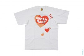 Three Hearts Graphic Tee by Human Made