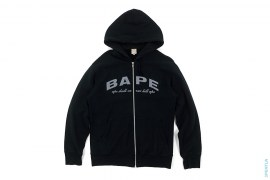 Made By General Arch BAPE Logo Zip Up Hoodie by bape