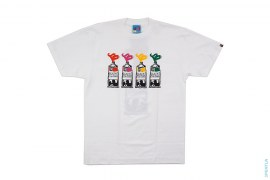 True Colors Paint Tube Tee by A Bathing Ape