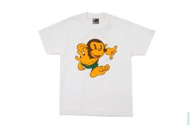 Running Cartoon Milo Bape Heads Tour Tee by A Bathing Ape
