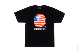 World Cup USA Flag Classic Apehead Logo Tee by A Bathing Ape
