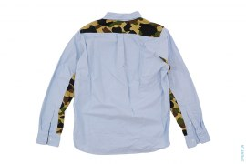 1st Camo Accent Button-Up Shirt by A Bathing Ape