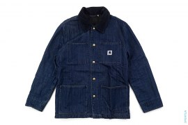 Capsule Denim Insulated Chore Coat by Carhartt x Adam Kimmel