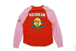 Cone Man Raglan Long Sleeve Tee by BBC/Ice Cream