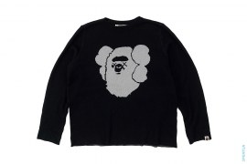 Apehead Companion Sweater by A Bathing Ape x Kaws