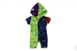 Crazy Camo Shark Stuffed Tail Onsie by A Bathing Ape