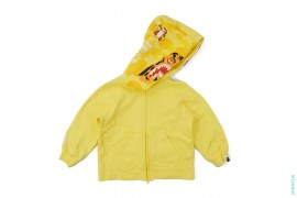 Half Kid's OG Camo Hood Tiger Zip-Up Hoodie by A Bathing Ape