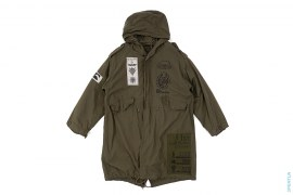 The Principality of Zeon M1951 Lined Fishtail Parka Jacket by Cospa x Mobile Suit Gundam