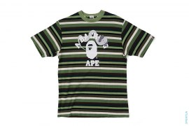 Bendy College Logo Border T by A Bathing Ape x Kaws