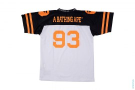 Apehead Two Tone Mesh Football Jersey by A Bathing Ape